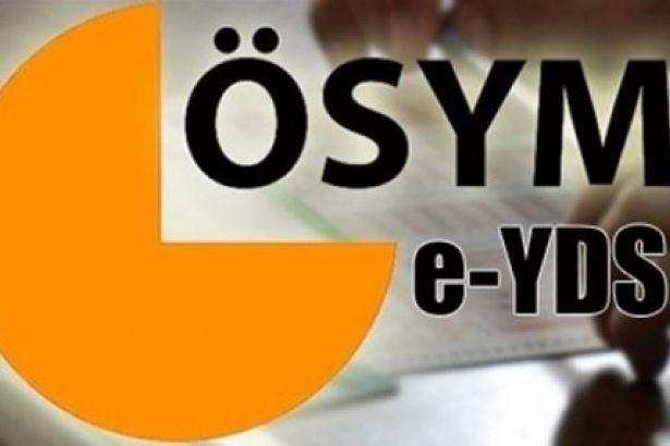 E - YDS Sınav Sonuçları
